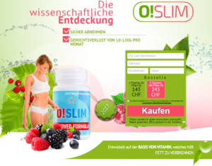 O!Slim pillen Switzerland