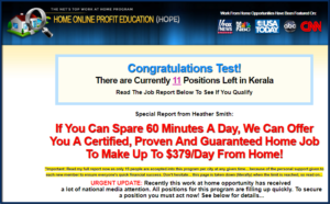Home Online Profits Club Review